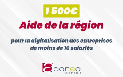 Une aide de 1 500€ pour aider la digitalisation les commerces et artisans